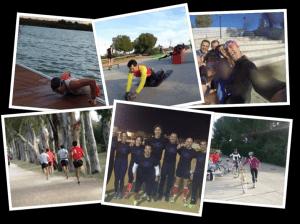 Grupo entrenamiento Jorge Ortega