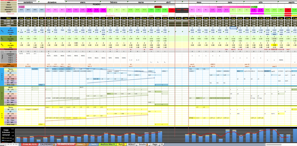 Planificación Triatlón