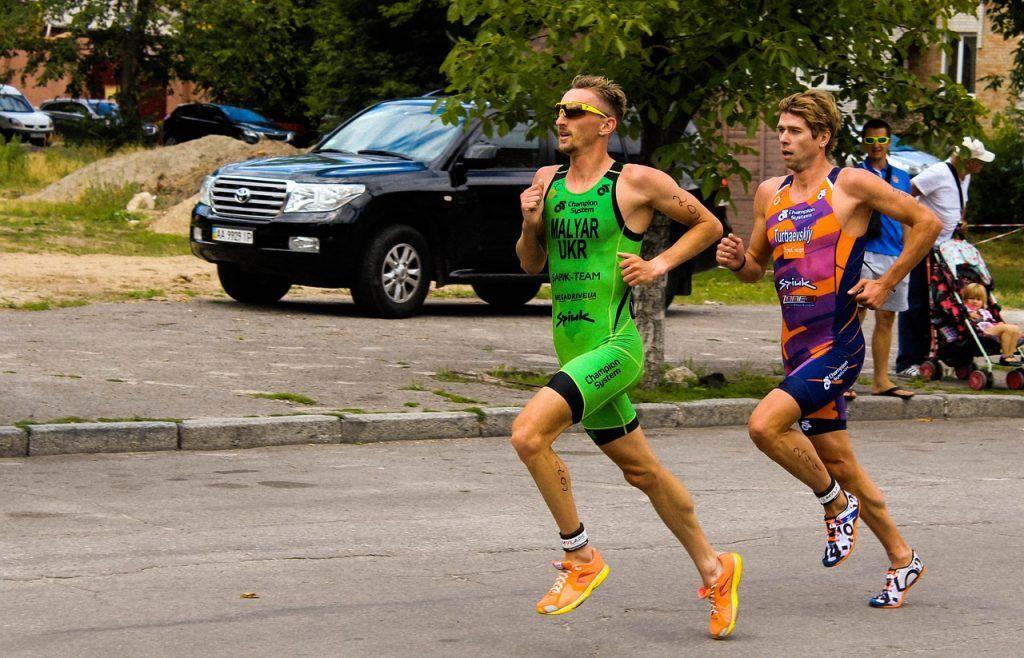 Drafting carrera triatlón