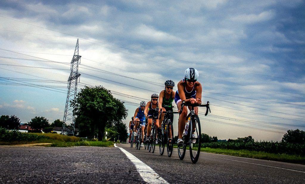Drafting ciclismo triatlón