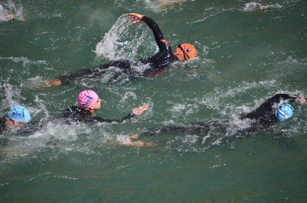 Drafting natación triatlón