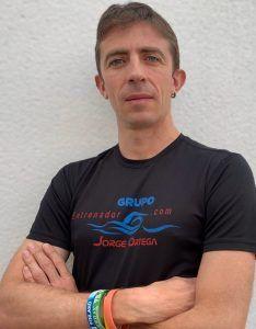 Entrenador Jorge Ortega